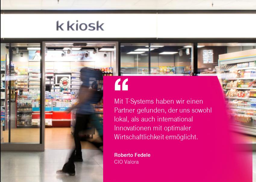 Valora: Einkaufserlebnis und Customer Experience aus der Cloud (mit T-Systems)