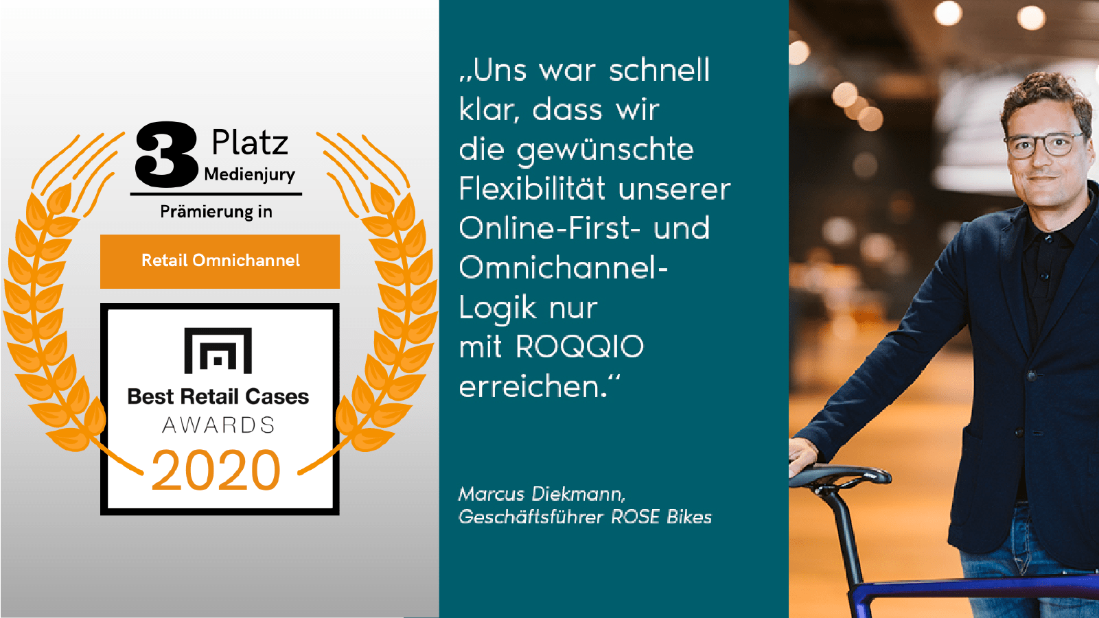ROSE Bikes: Omnichannel Commerce Solution (mit ROQQIO)