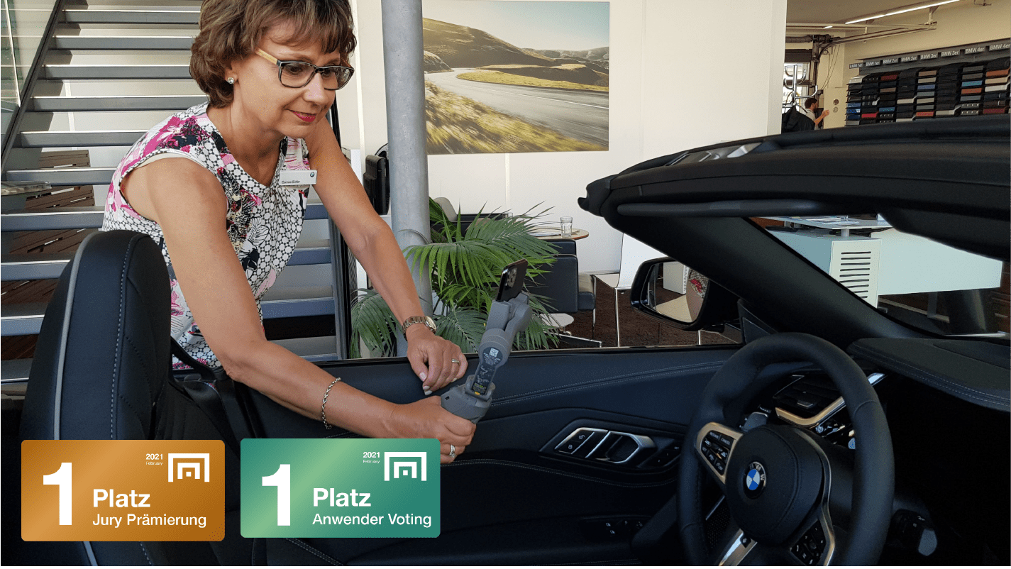 BMW Bühler: Live-Beratung aus dem virtuellen Showroom (mit Okomo)