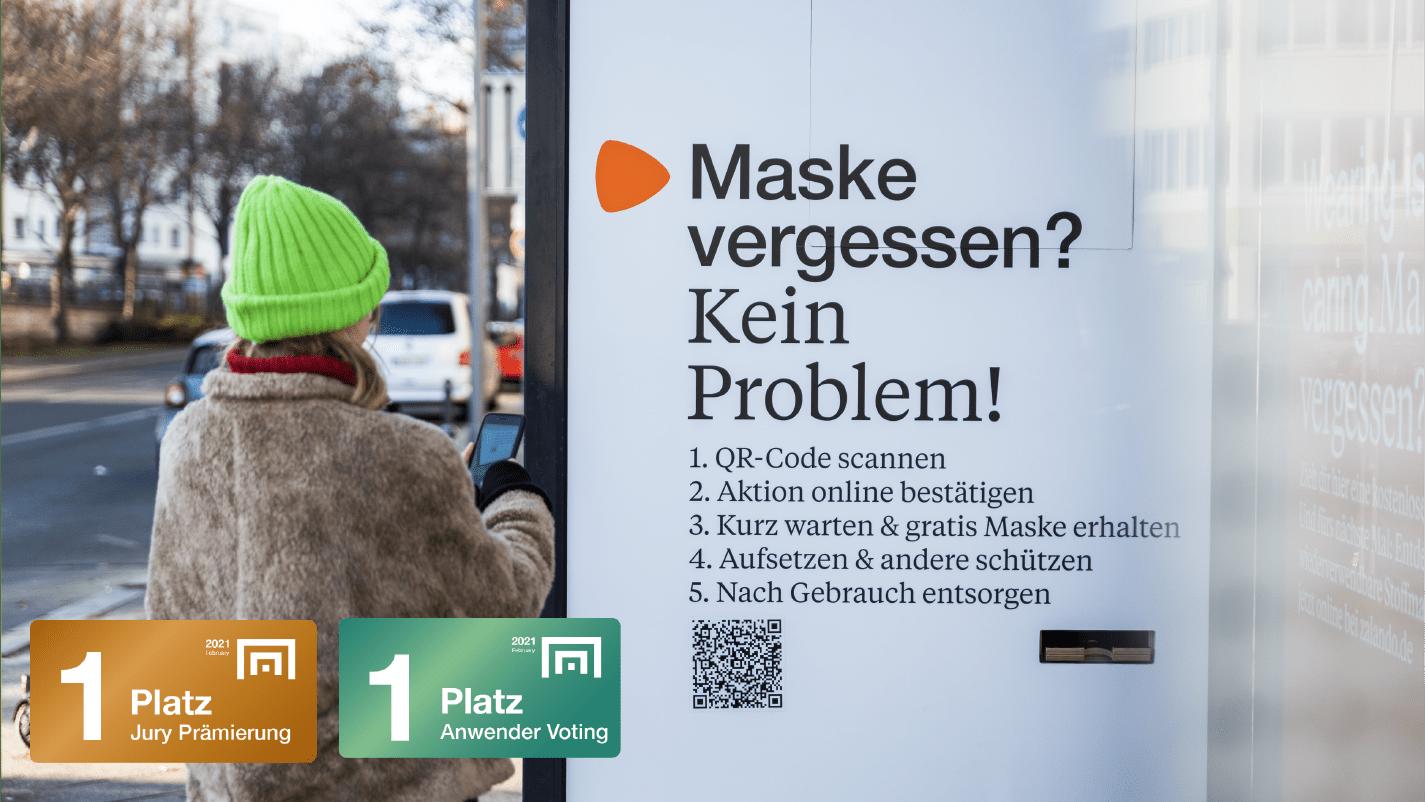 Zalando: Wearing is Caring – Zalando stellt kostenlose Masken bereit (mit Weischer & Havas)